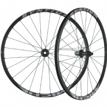 MICHE SYNTIUM AXY BLACK 6 BOLT DISC BRAKE WHEEL